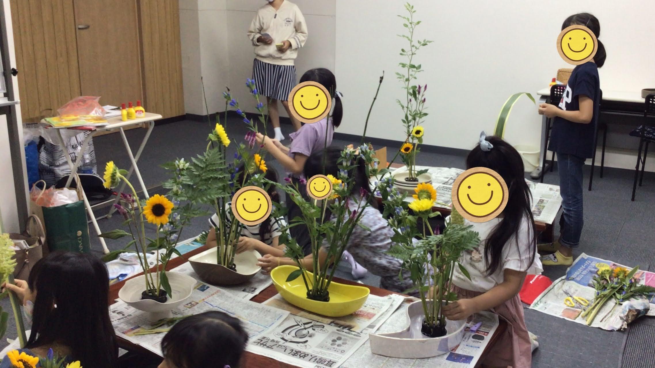 お花教室レポート